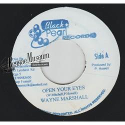 "Wayne Marshall - Open Your Eyes - Black Pearl 7"""""