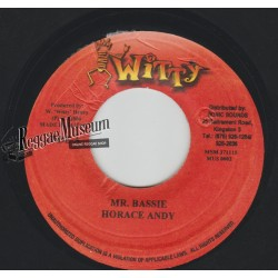 """Horace Andy - Mr Bassie - Witty 7"""""""""""