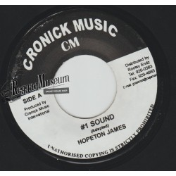 Hopeton James - Number 1 Sound - Cronick 7""""