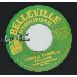 Cornell Campbell - Only Love - Belleville International 7""""
