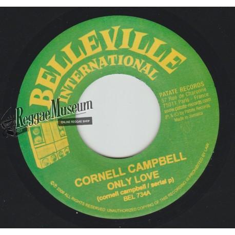 "Cornell Campbell - Only Love - Belleville International 7"""""