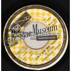 "Carolene Davis - Let Me Be There - Groovemaster 7"""
