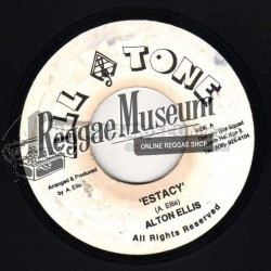 Alton Ellis - Ectasy - All Tone 7""
