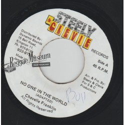 """Chevelle Franklin - No One In The World - Steely & Cleevie 7"""""""