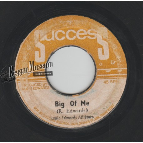 Ansel Collins - Big Of Me - Success 7""