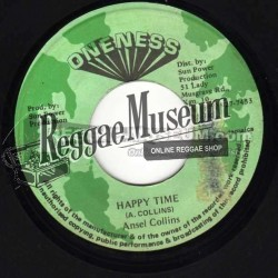 Ansel Collins - Happy Time - Oneness 7""