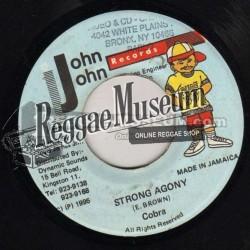"Cobra - Strong Agony - John John 7"""
