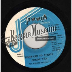 Cocoa Tea - Forward To Africa - Jammys 7""