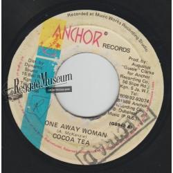 """Cocoa Tea - One Away Woman - Anchor 7"""""""