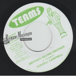 Cornell Campbell - Brother Killing Brother - Teams 7""