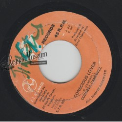 Cornell Campbell - Conscious Lover - ET Records 7""