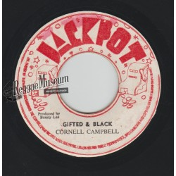 Cornell Campbell - Gifted & Black - Jackpot 7""