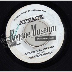 Cornell Campbell - Lets Do It Again Baby - Attack 7""