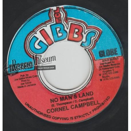 "Cornell Campbell - No Mans Land - Joe Gibbs 7"""