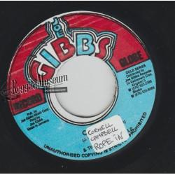"Cornell Campbell - Rope In - Joe Gibbs 7"""