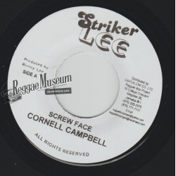 Cornell Campbell - Screw Face - Striker Lee 7""