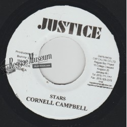 Cornell Campbell - Stars - Justice 7""