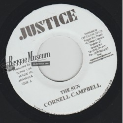 """Cornell Campbell - The Sun - Justice 7"""""""