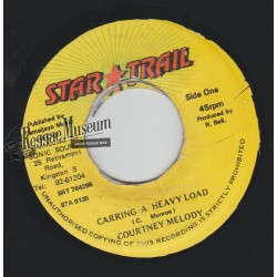 Courtney Melody - Carring A Heavy Load - Star Trail 7""