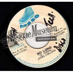 """Ansel Collins - So Long - Rosso 7"""""""