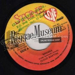 "Cudjo Banton - Banana - Stone Love 7"""
