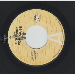 "Cutty Ranks - Pon Pause (bam bam riddim remix) - Classic Cuts 7"""