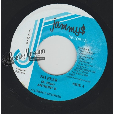 "Anthony B - No Fear - Jammys 7"""