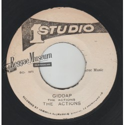 Actions - Giddap - Studio 1 7""