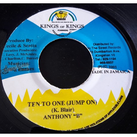 """Anthony B - Ten To One - Kings Of Kings 7"""""""