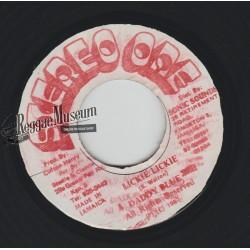 "Daddy Blue - Licckie Lickie - Stereo One 7"""