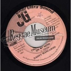 "Danny Mangaroo - Thousand Things On My Mind - Joe Gibbs 7"""