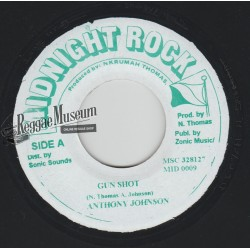 Anthony Johnson - Gunshot - Midnight Rock 7""