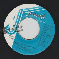 Anthony Malvo - Because I Love You - Jammys 7""